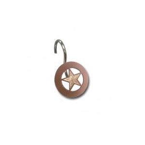 Concho Star Shower Hook