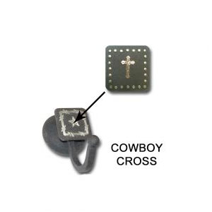 cowboy cross robe hook
