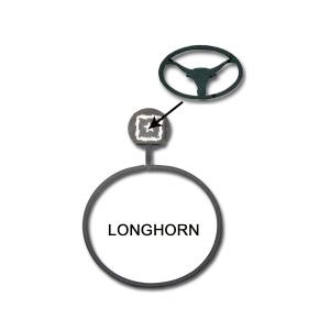 Longhorn Towel Ring