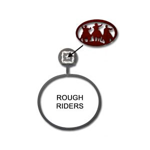Rough Riders Towel RIng