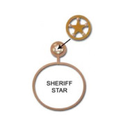 Sheriff Star Towel Ring
